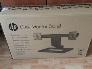 HP-Soporte para monitor dual - Dual Monitor Stand