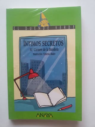 "Libro ""Íntimos Secretos"". 1º ESO"