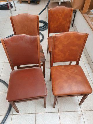 4 sillas comedor