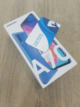 Samsung Galaxy A70 128GB 6GB RAM Blue Nuevo