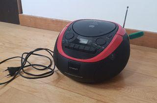 Radiocassete/ Cd / radio / usb mp3 portátil