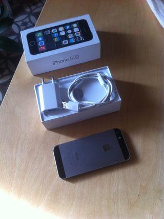 IPHONE 5S 16 GB PLATEADO LIBRE