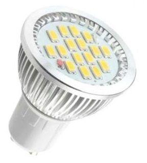 Bombillas LED GU10 con casquillos