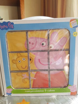 Puzzle Peppa Pig 9 cubos
