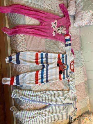 Lote 3 pijamas 18/24 meses