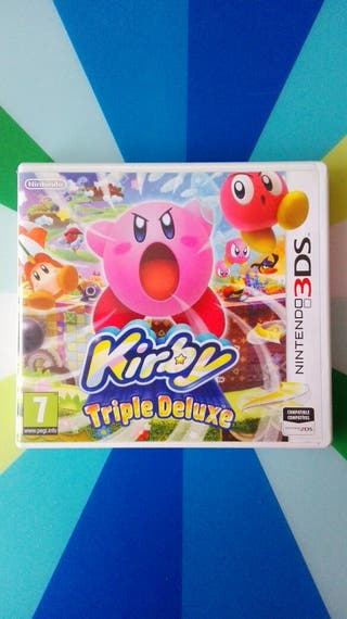 Juego Kirby Triple Deluxe para Nintendo 3DS