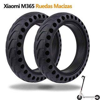 Ruedas Macizas para Xiaomi M365 Scooter Eléctrico