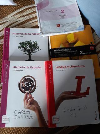 libros de 2°de bachillerato