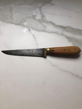 Cuchillo antiguo aragonés