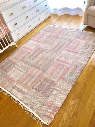 Alfombra Zara home patchwork