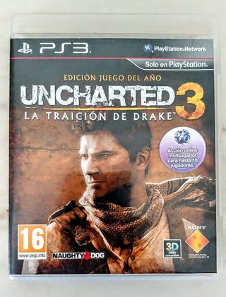 Juego PS3 Uncharted 3 GOTY difícil