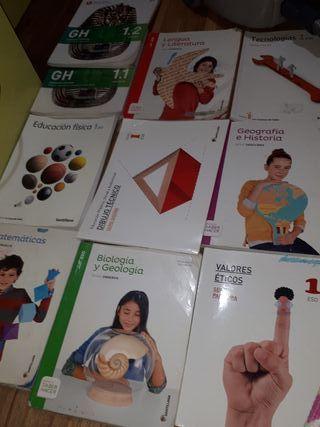 libros 1 eso Santillana y aula 3D