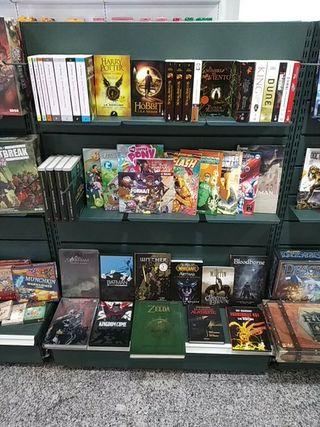 libros, comics, mangas, novelas de Rinconakama