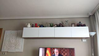 instalamos muebles de pared salón ikea