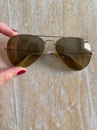 Gafas de sol rayban modelo aviador talla S