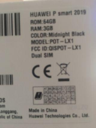 Huawei P Smart 2019 64 gb