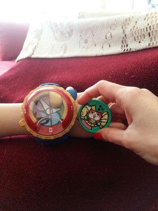 reloj original de yo-kai watch 2 ° temporada