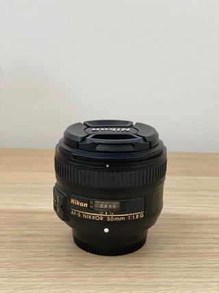 Objetivo Nikon AF-S 50mm