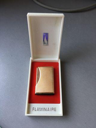 Mechero Flaminaire chapado oro