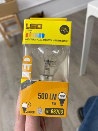 50 bombillas LED