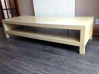 Mueble TV Ikea Lack abedul