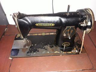 maquina coser singer antigua