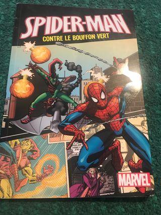 Spider man contre le bouffon vert