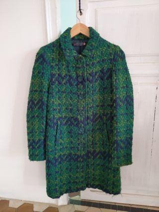 Abrigo de lana entallado Desigual talla 36