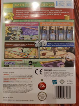 Juego wii Monopoly