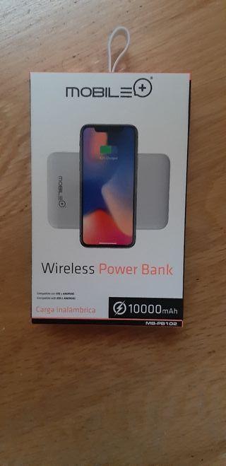 Batería externa wireless Mobile