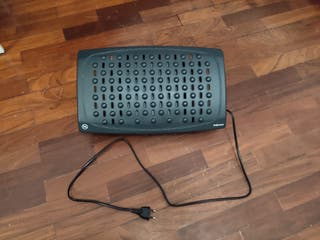 Calefactor reposapiés