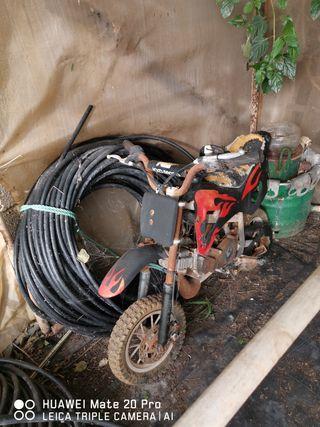 lanverti mini moto cross gasolina