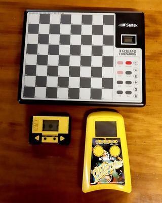 Maquinas de videojuegos y ajedrez