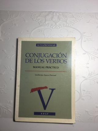libro conjugación de verbos