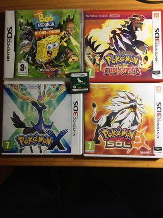 SAGA DE POKEMOS Y 2+ para nintendo 3DS y DS