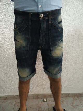 Pantalón corto/Bermudas de hombre. Marca Denim Co.