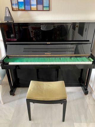 PIANO VERTICAL PETROF DE SEGUNDA MANO