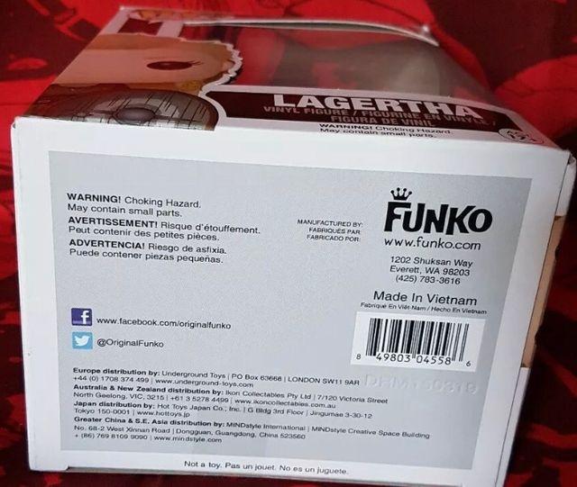 FUNKO POP , LAGERTHA 178, (VIKING) Nuevo.