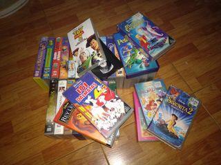 VHS Disney y varios