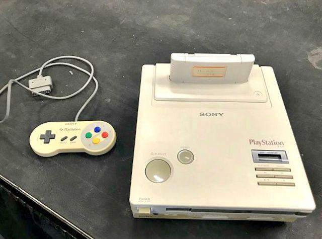 Prototipo Sony y Nintendo