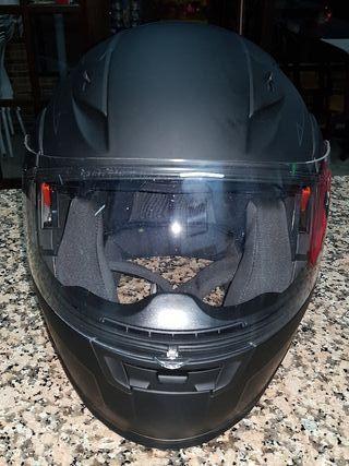 casco leopard safari casi nuevo