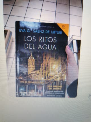 """Libro nuevo """"Los ritos del agua"""""""