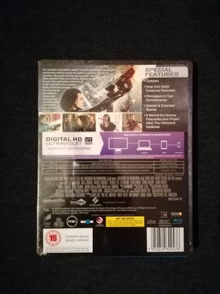 RESIDENT EVIL RETRIBUTION LIMITED STEELBOOK