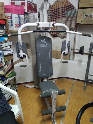 Maquina de gimnasio multifuncion