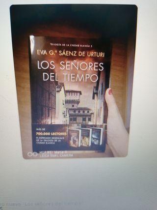 """Libro nuevo """"Los señores del tiempo"""""""
