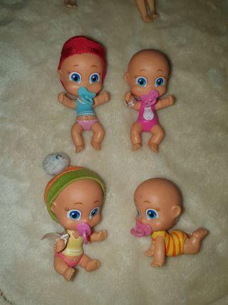 Lote de muñecos de Famosa