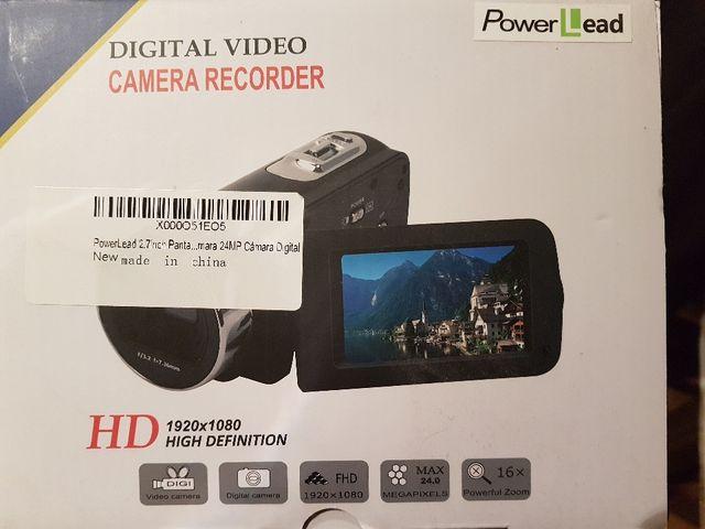 video camara HD power lead