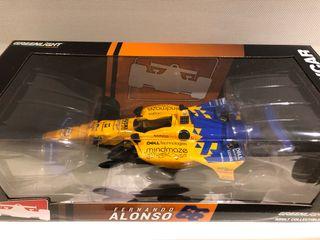 Formula Indy Fernando Alonso maqueta