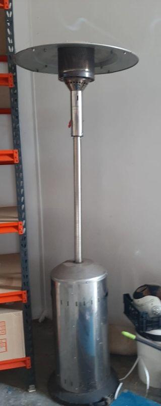 Estufa de gas butano para exterior