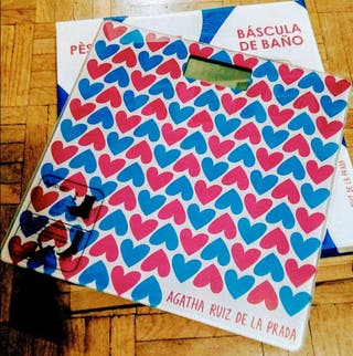Báscula agatha Ruiz Prada